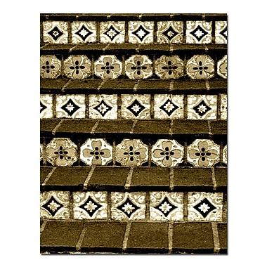 Trademark Fine Art Cream Tiles by Patty Tuggle-Canvas Art