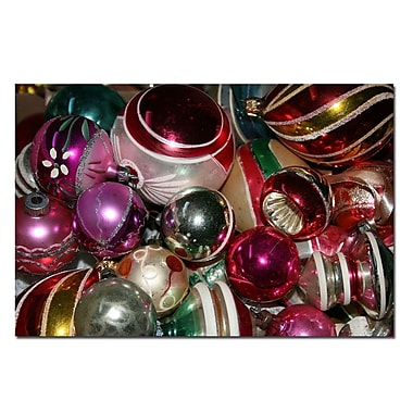 Trademark Fine Art VIntage Christmas by Patty Tuggle-Canvas Art