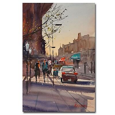 Trademark Fine Art Ryan Radke 'Afternoon Light' Canvas Art 16x24 Inches