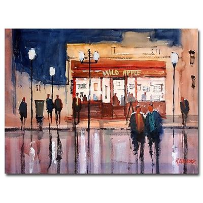 Trademark Fine Art Ryan Radke 'Opening Night' Canvas Art 35x47 Inches