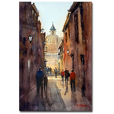 Trademark Fine Art Ryan Radke 'Rome' Canvas Art 16x24 Inches