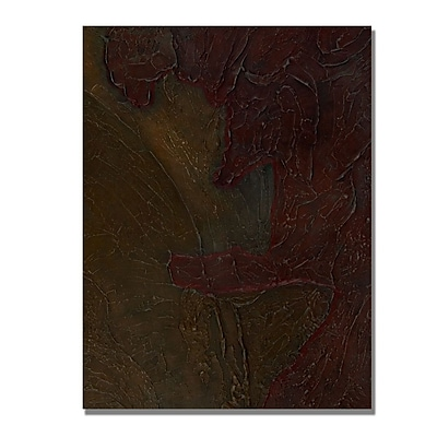 Trademark Fine Art Rachel Rouse 'Out of the Overflow of the Heart' Canvas Art 24x32 Inches