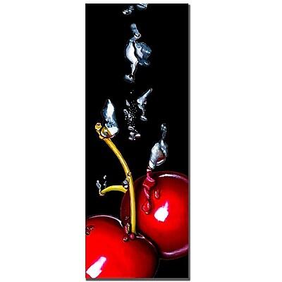 Trademark Fine Art Roderic Stevens 'Cherry Splash' Canvas Art