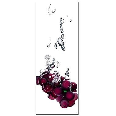 Trademark Fine Art Roderic Stevens 'Grapes Splash II ' Canvas Art