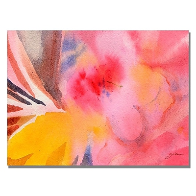 Trademark Fine Art Shelia Golden 'Pink Tones' Canvas Art. 18x24 Inches