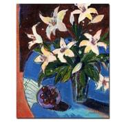 Trademark Fine Art Sheila Golden 'A Bowl of Cherries' Canvas Art