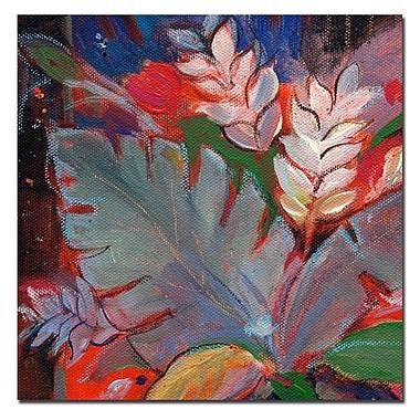 Trademark Fine Art Sheila Golden 'Tropic Night II' Canvas Art
