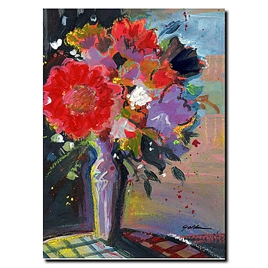 Trademark Fine Art Sheila Golden 'Sunlight Bouquet' Gallery Wrapped Canvas Art 35x47 Inches
