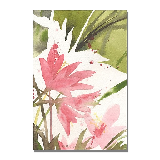 Trademark  Fine  Art Shelia Golden 'The Appearance of Spring' Canvas Art 35x47 Inches