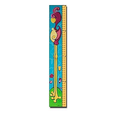 Trademark Fine Art 6 Foot Growth Chart-'Flamingrow' by Sylvia Masek