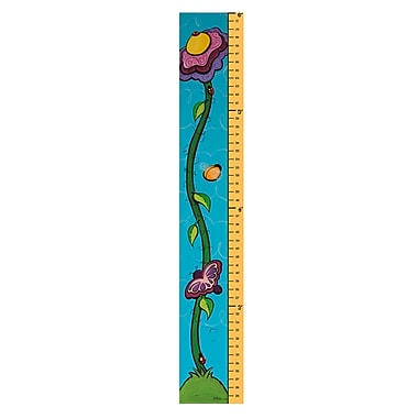 Trademark Fine Art 6 Foot Growth Chart-'Flower Sprout' by Sylvia Masek