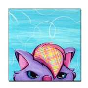 Trademark Fine Art Sylvia Masek 'Kitty' Canvas Art 24x24 Inches