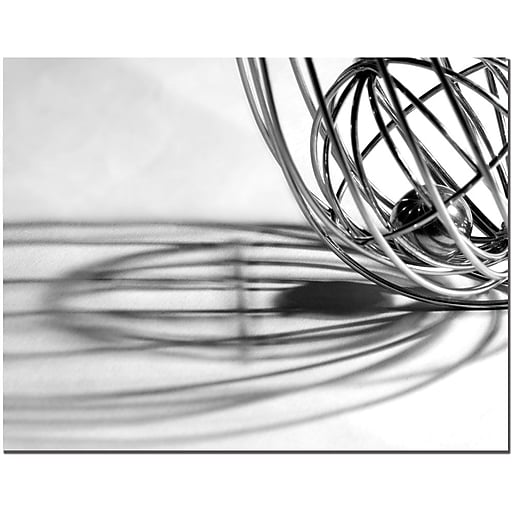 Trademark Fine Art Whisk by Tammy Davison Canvas Art Ready to Hang 14x19 Inches