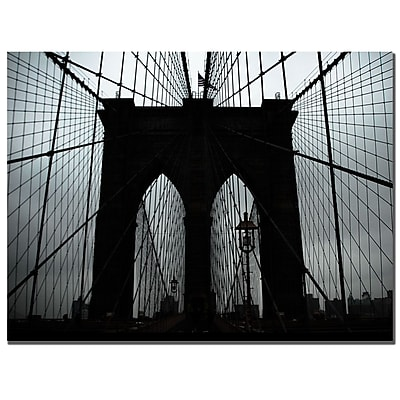 Trademark Fine Art Tammy Davison 'Brooklyn Bridge' Canvas Art 18x24 Inches