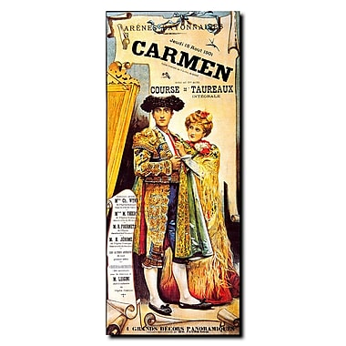 Trademark Fine Art 'Carmen' Gallery Wrapped Canvas Art