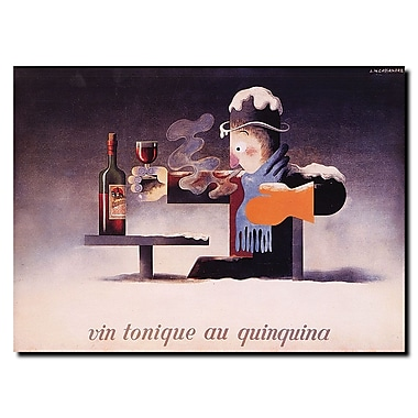 Trademark Fine Art Adolphe Cassandre 'Vin Tonique Quinquina' Gallery Wrapped