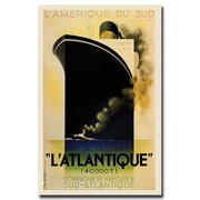 Trademark Fine Art L'Amerique de sud L'Atlantique-
