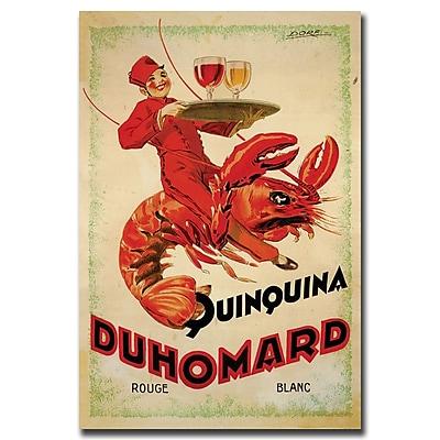 Trademark Fine Art Quinquina Duhomard by Dorti-Albert Dorfinant-Gallery Wrapped