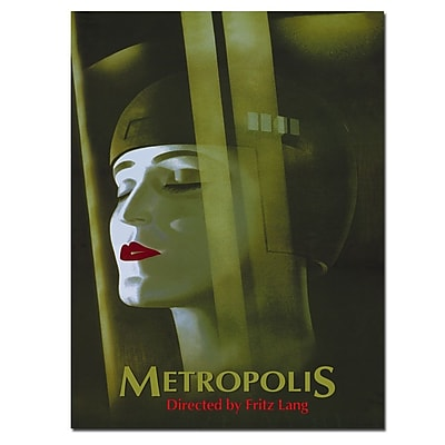 Trademark Fine Art Werner Graul 'Metropolis' Canvas Art 35x47 Inches