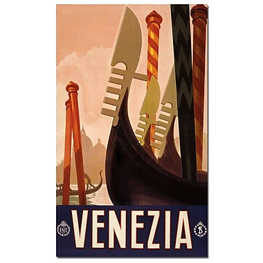 Trademark Fine Art Venezia-Canvas Art Ready to Hang 18x24 Inches