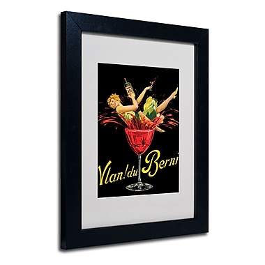 Trademark Fine Art 'Vlan du Berni' Matted Framed Art