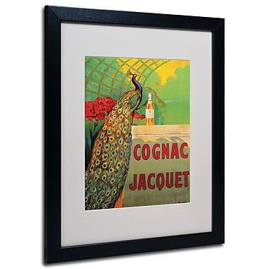 Trademark Fine Art Camille Bouchet 'Cognac Jacquet' Matted Art Black Frame 16x20 Inches