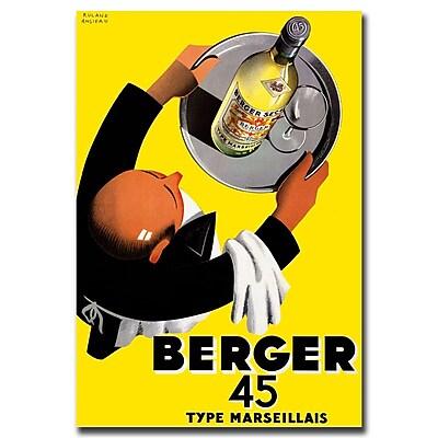 Trademark Fine Art Berger 45 Vintage Art