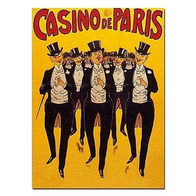 Trademark Fine Art Casino de Paris Canvas Art Ready to Hang