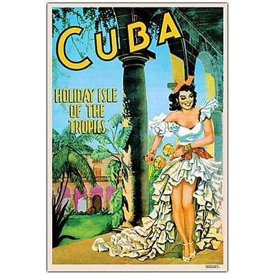 Trademark Fine Art Cuba Holiday Isle- Canvas Art