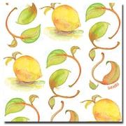 Trademark Fine Art Wendra 'Lemons' Canvas Art 14x14 Inches