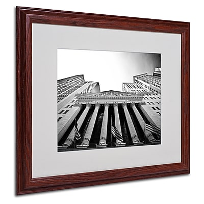 Yale Gurney The New York Stock Exchange Matted Framed