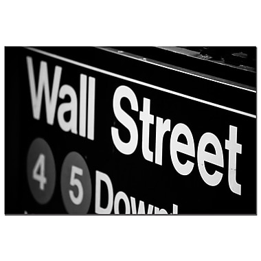 Trademark Fine Art Yale Gurney 'Wall Street Next' Canvas Art