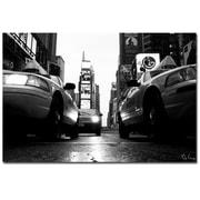 Trademark Fine Art Yale Gurne 'Broadway Taxis' Canvas Art