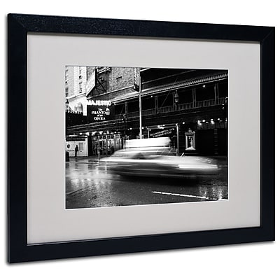 Trademark Fine Art Yale Gurney 'The Majestic' Matted Art Black Frame 16x20 Inches