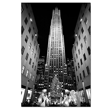 Trademark Fine Art Yale Gurney 'Rockefeller Night' Canvas Art