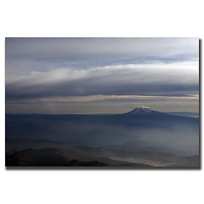 Trademark Fine Art Ranier by Yale Gurney-Gallery Wrapped Canvas Art 35x47 Inches