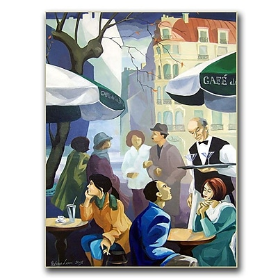 Trademark Fine Art Yelena Lamm 'City Scene' Canvas Art
