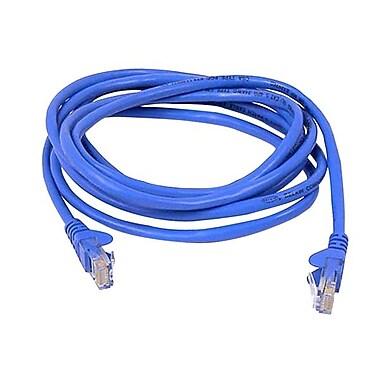 Belkin A3L791-06-BLU-S 6' CAT-5e Snagless Patch Cable, Blue (A3L791-06-BLU-S )
