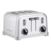 Cuisinart® Metal Classic 4 Slice Toaster, Silver