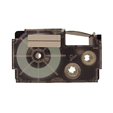 Casio® XR9-XS 9 mm Black on Clear Label Printer Tape For CWL-300