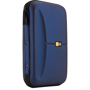 Case Logic® Molded EVA Foam 72 CD Wallet, Blue