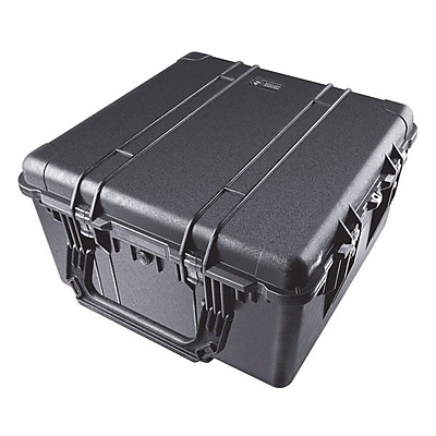 Pelican™ 1640 Transport Case With Foam, Black