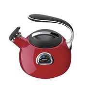 Conair® Cuisinart® PerfecTemp® Porcelain Enameled Teakettle, Red