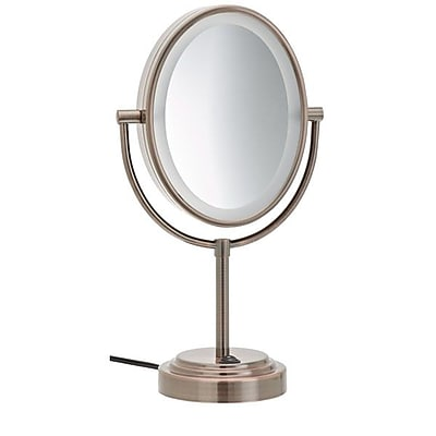 Conair Double-Sided Lighted Mirror, 7