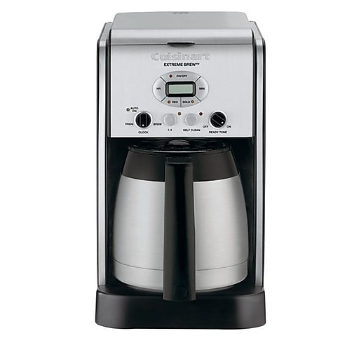 Cuisinart Extreme Brew 10 Cups Automatic Coffee Maker, Aluminum (DCC-2750)