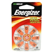 Energizer® AZ13DP-8 Zinc Air 1.4 280 mAh Hearing Aid Battery