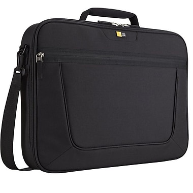 Case Logic® Clamshell Black Polyester 17.3