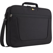 "Case Logic® Clamshell Black Polyester 17.3"" Laptop Briefcase, (VNCI-217BLACK)"