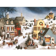 LANG® Caroling In The Village Boxed Christmas Cards