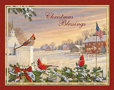LANG® Colors Of Christmas Boxed Christmas Cards